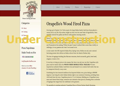 Orapello's Wood Fired Pizza