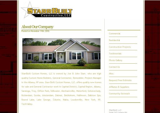 StarrBuilt Construction LLC